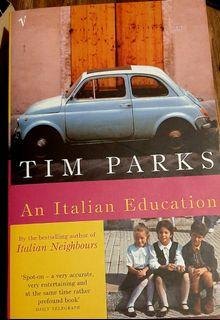 Books about Italy: An Italian Education by Tim Parks