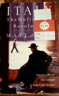 Books about Italy: Italy The Unfinished Revolution by Matt Frei