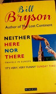 Books about Italy: Neither here nor There by Bill Bryson