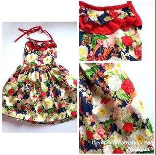 Brand New Dress that fits 3T and below!