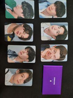 BTS X SAMSUNG photocards