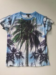 Forever 21: palm trees shirt