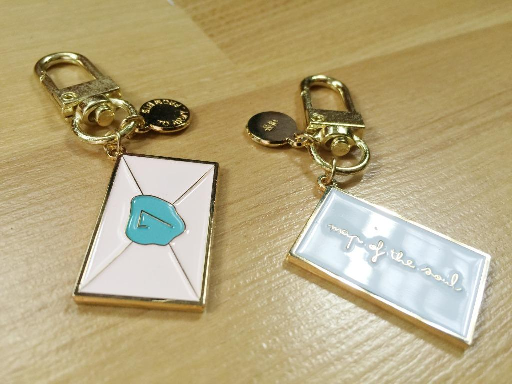 BTS Premium Gold Enamel Keyring: Map of the Soul 7