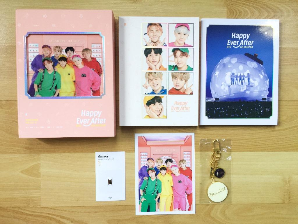 Official 100% BTS 4th Muster [Happy Ever After] DVD Album Set