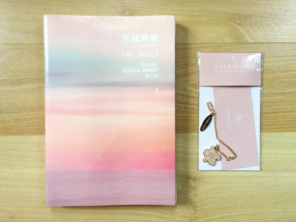 Official 100% BTS 花樣年華 The Notes 1 The Most Beautiful Moment in Life ENG ver. (About 230 pages!), Smeraldo Bookmark