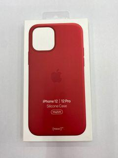 iphone 12 silicone case  紅 (原廠)全新