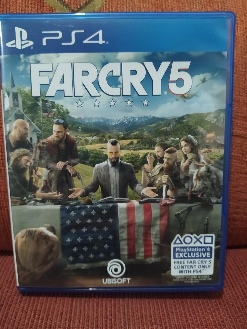 Kaset PS4 BD Game Farcry Far Cry 5