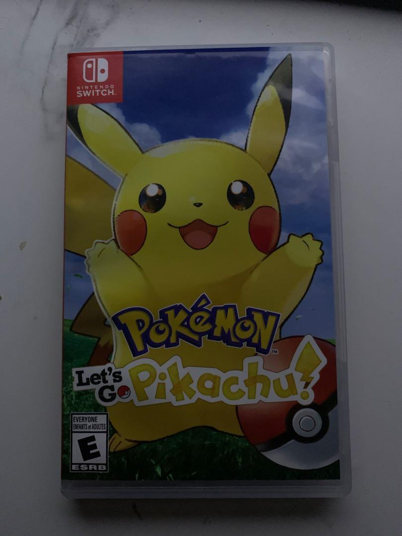 Let's go pikachu with pokeball plus
