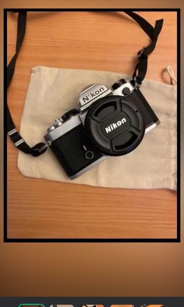 Nikon FM復古底片相機(含鏡頭)日本製造