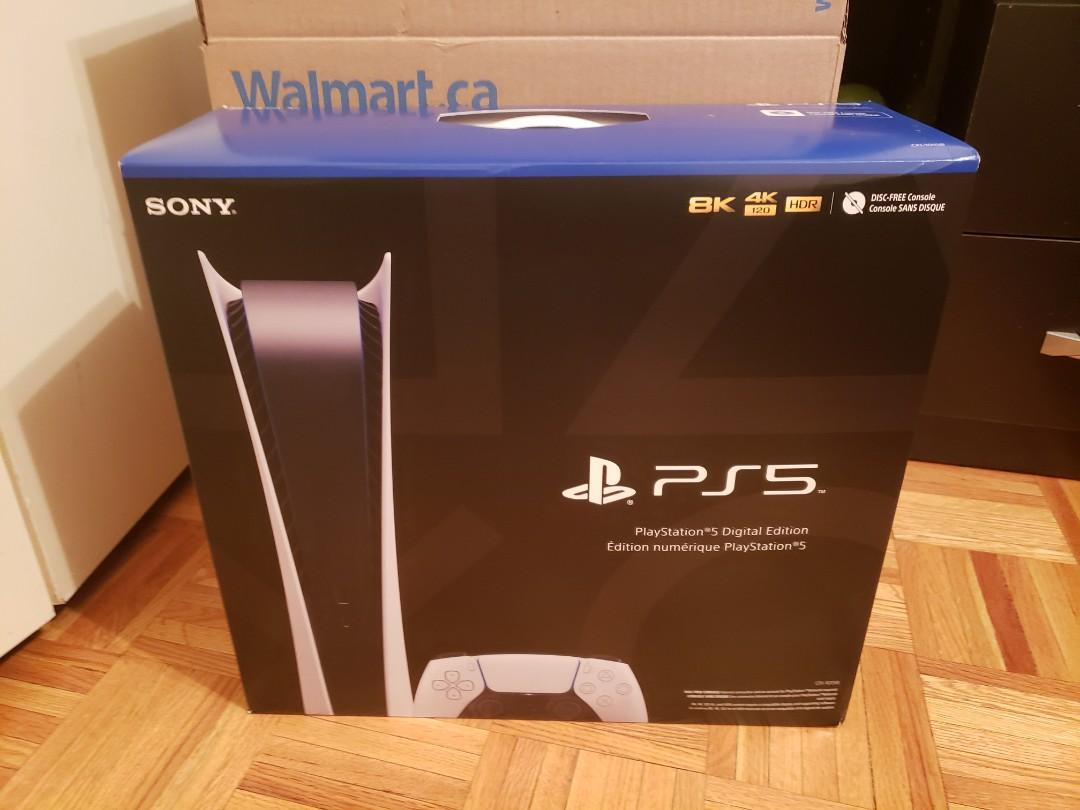 PS5 Digital Edition BNIB In Hand