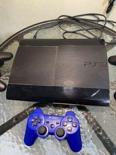 PS 3 Super Slim 500GB (+udah ada 30 games)