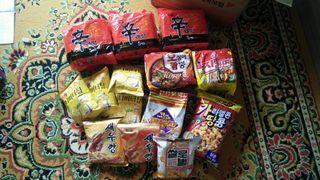 Ramen @ snacks from Korea