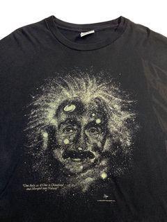 Vintage 1993 Albert Einstein (glow in the dark)