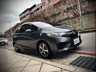 2014 Honda FIT 1.5 灰  配合全額貸、找 錢超額貸 FB搜尋 : 『阿文の圓夢車坊』