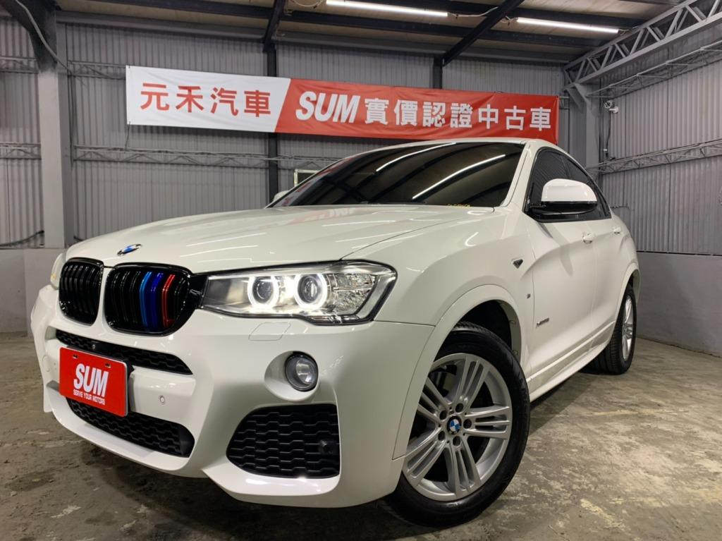 正2015 總代理 BMW X4 XDrive35I 3.0
