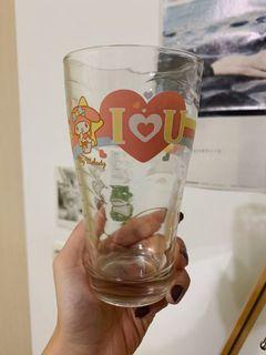 美樂蒂 雙星仙子 透明玻璃杯