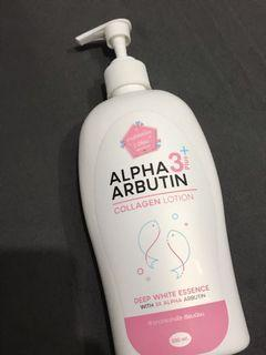Alpha Arbutin 3 Plus Collagen Whitening Lotion BPOM (Lotion Pemutih Badan)