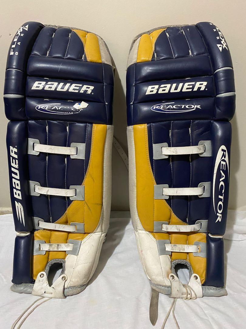 Bauer ice hockey goalie pads