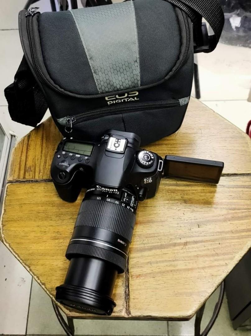 Canon 60D 18-135mm IS All Around Lens