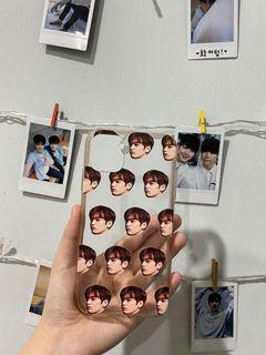 Case Iphone 11 Custom Grid Face Cha Eun Woo