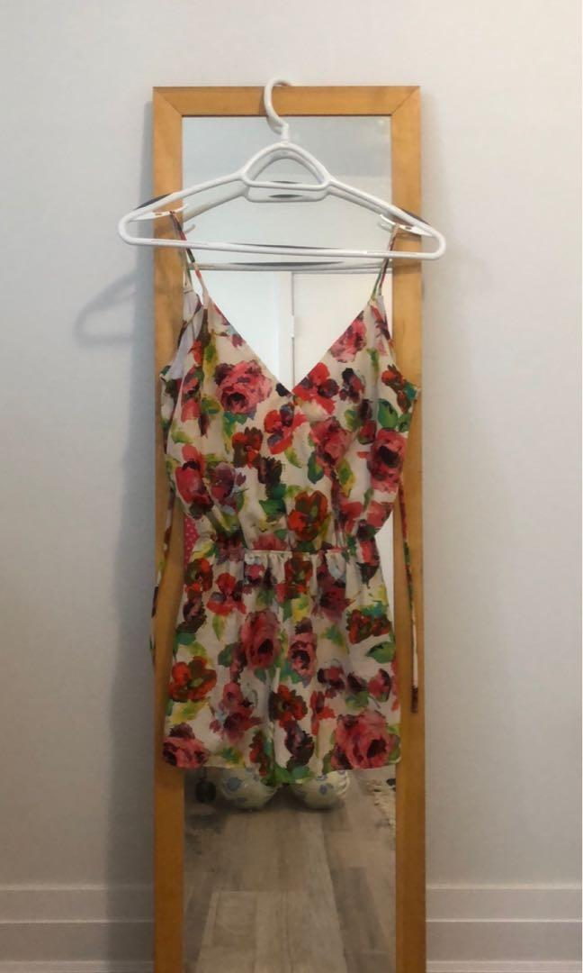 Charlotte Rosse floral  jumper dress
