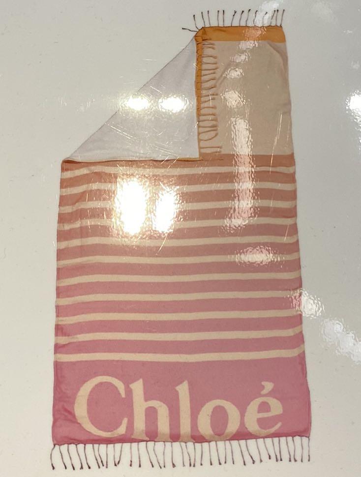 Chloe 沙灘巾也可以當浴巾