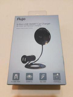 Flujo 6-Ports USB Smart Car Charger