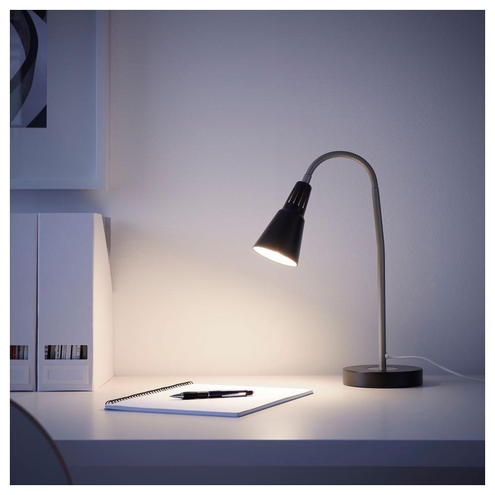 IKEA Kvart Work Lamp/Lampu Kerja & Baca