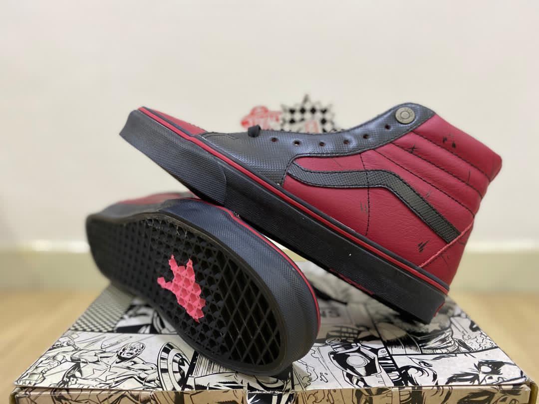 Marvel x Vans Deadpool Sk8-Hi, Men's Fashion, Footwear, Sneakers ...