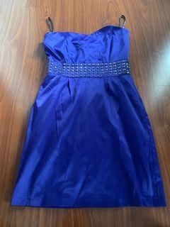 Mini dress bebe blue