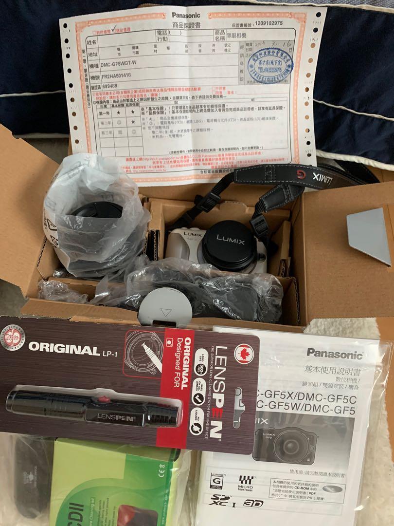 Panasonic 數位相機 DMC-GF5W(內含14mm+14-42mm鏡頭)