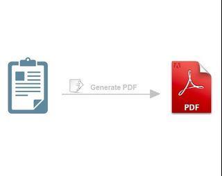 PHP PDF Generator Code