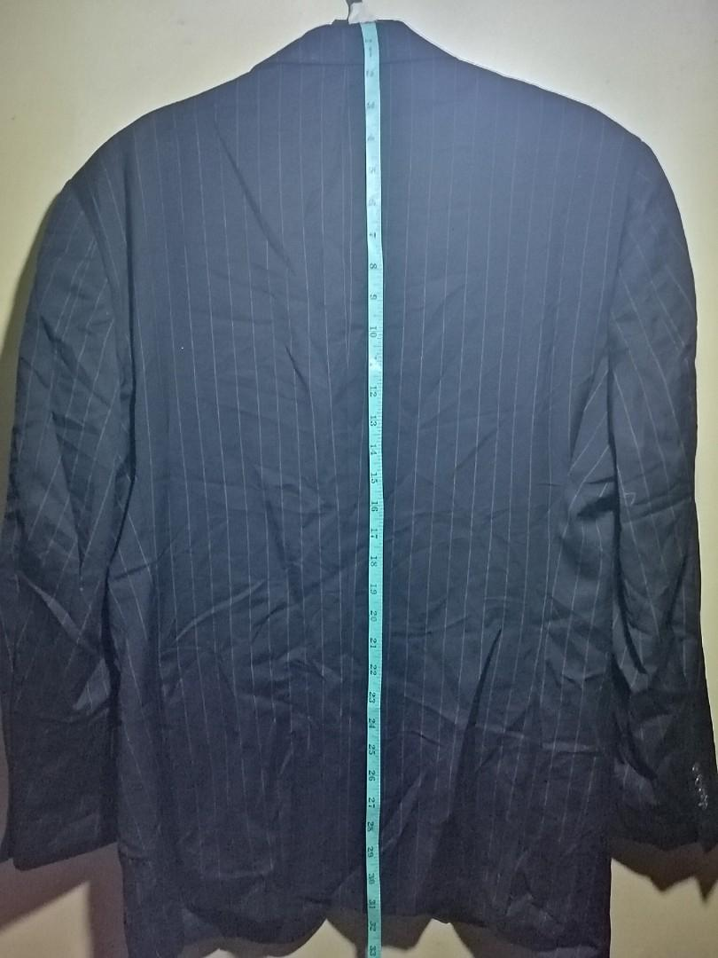Stripped Austin Reed Coat Men S Fashion Clothes Tops On Carousell