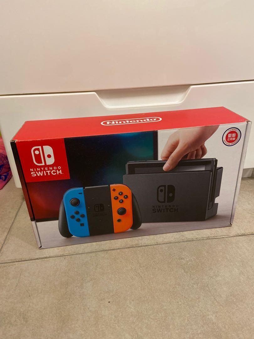 Switch 主機+紅藍手把(限時特價!)