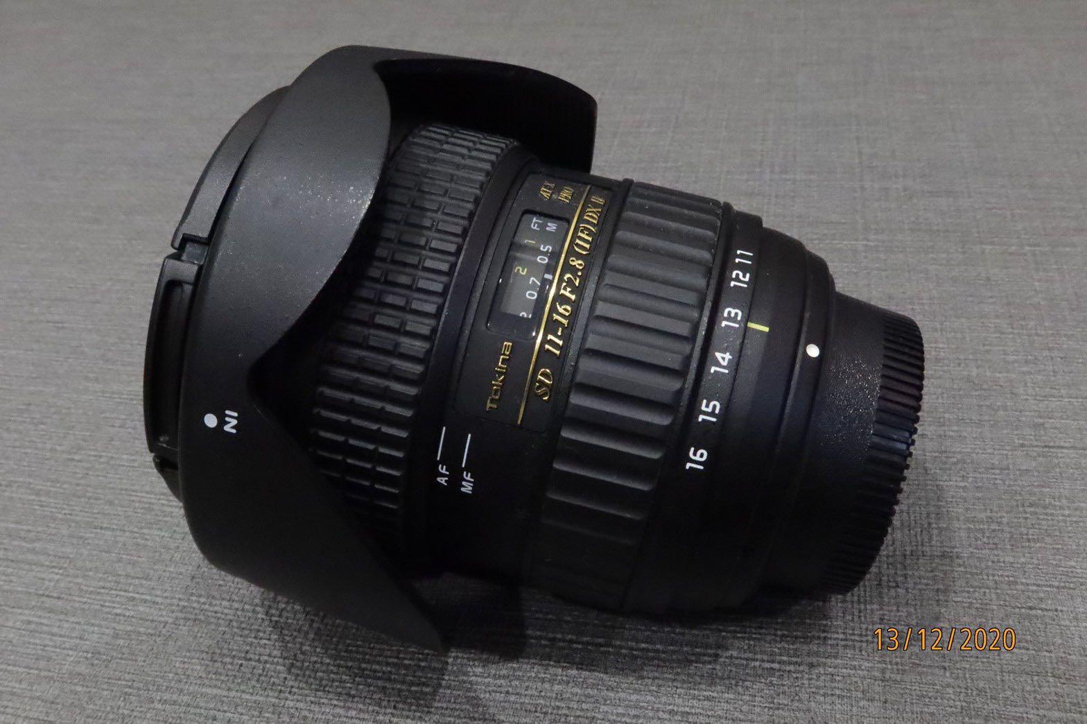 TOKINA  11-16mm F2.8  T116 II 鏡頭