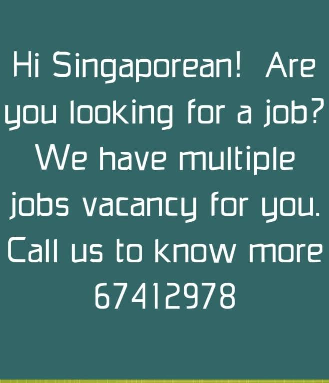 We have various F&B JOBS position available for SIngaporean