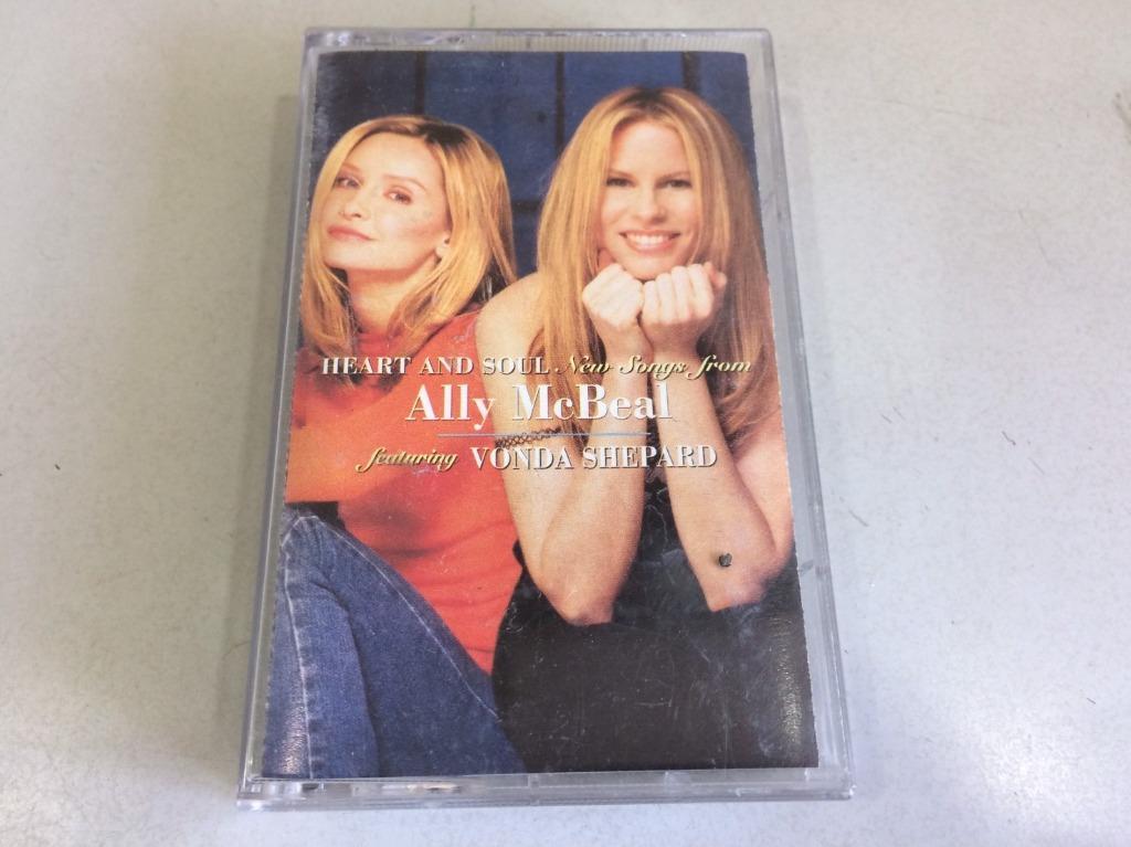 「環大回收」♻二手 卡式錄音帶 早期 絕版 限量【芳達夏普 Ally mcbeal 艾莉的異想世界】原版卡帶 正版磁帶