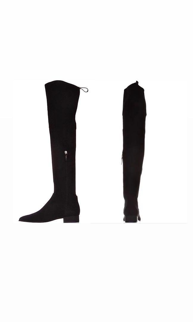 DKNY knee high boots