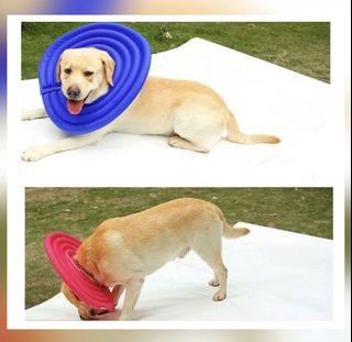 Dog / cat / pet air ecollar - recovery cushion / cone