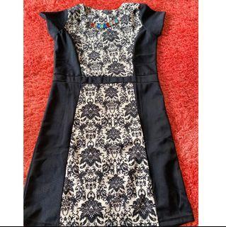 DRESS BATIK DENGAN BEADING