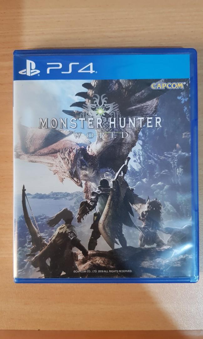 Monster Hunter world ps4 murah