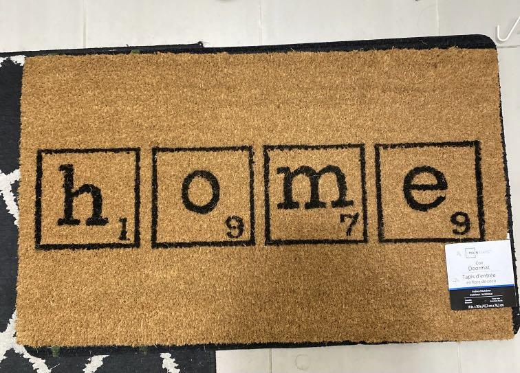 New with tag: Coir doormat