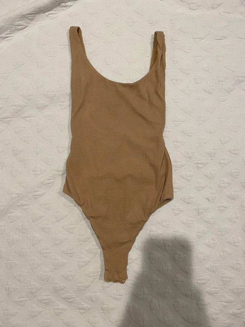 NUDE BODY SUIT - PRINCESSPOLLY