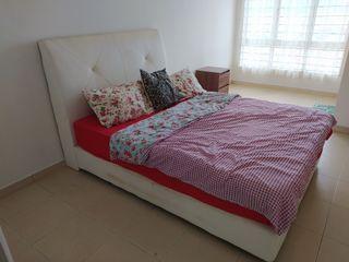 Quenn size bed + matress