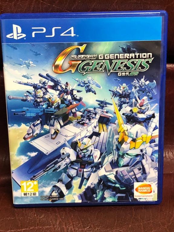 SD 鋼彈 G 世代 創世 中文版 PS4 遊戲 二手