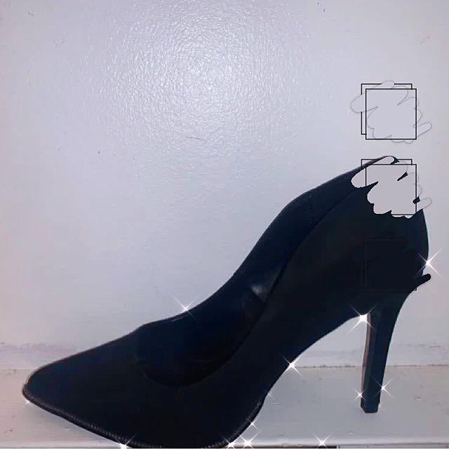 Spring Black Heels (US 7)