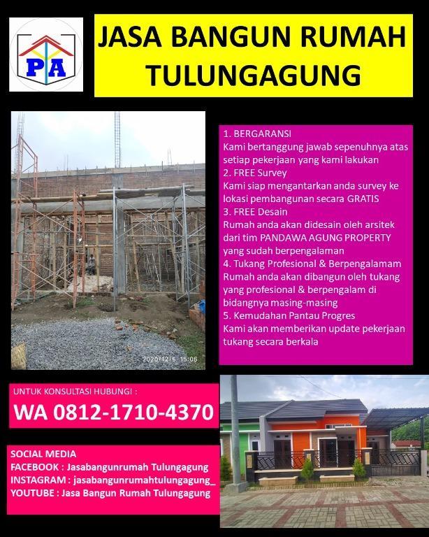 TERBAIK  | 0812-1710-4370 | Biaya Sewa Kontraktor di Tulungagung, PANDAWA AGUNG PROPERTY