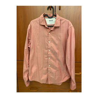 【二手】Timberland粉色襯衫