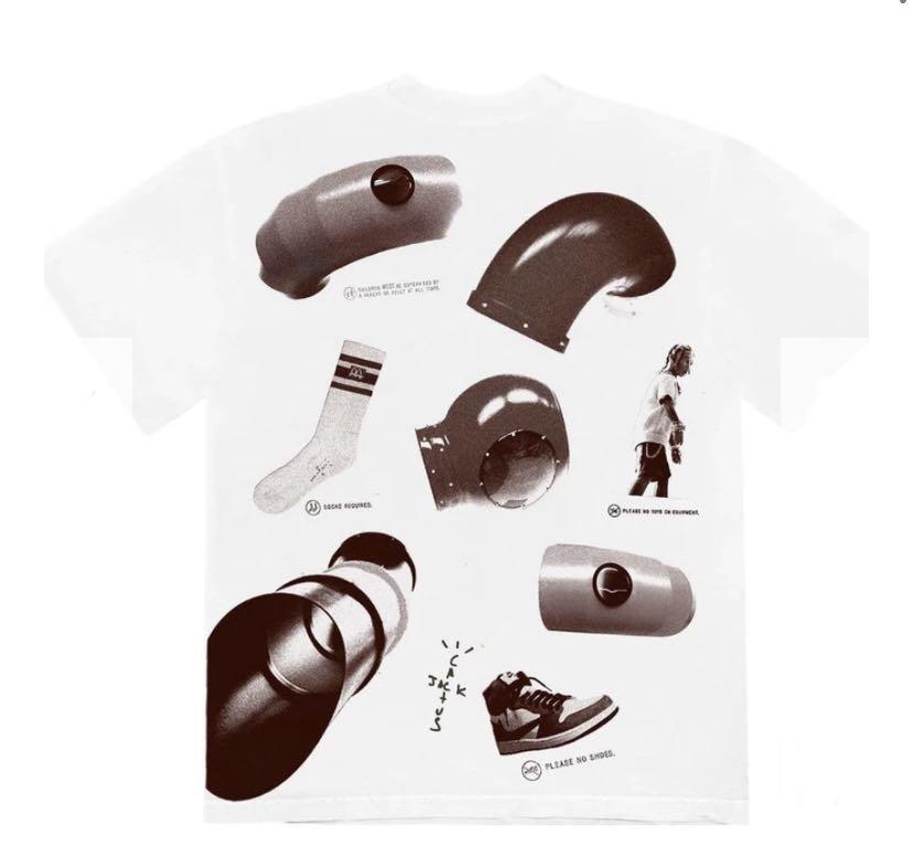 Travis Scott X McDonald's - Rules t-shirt -  Large