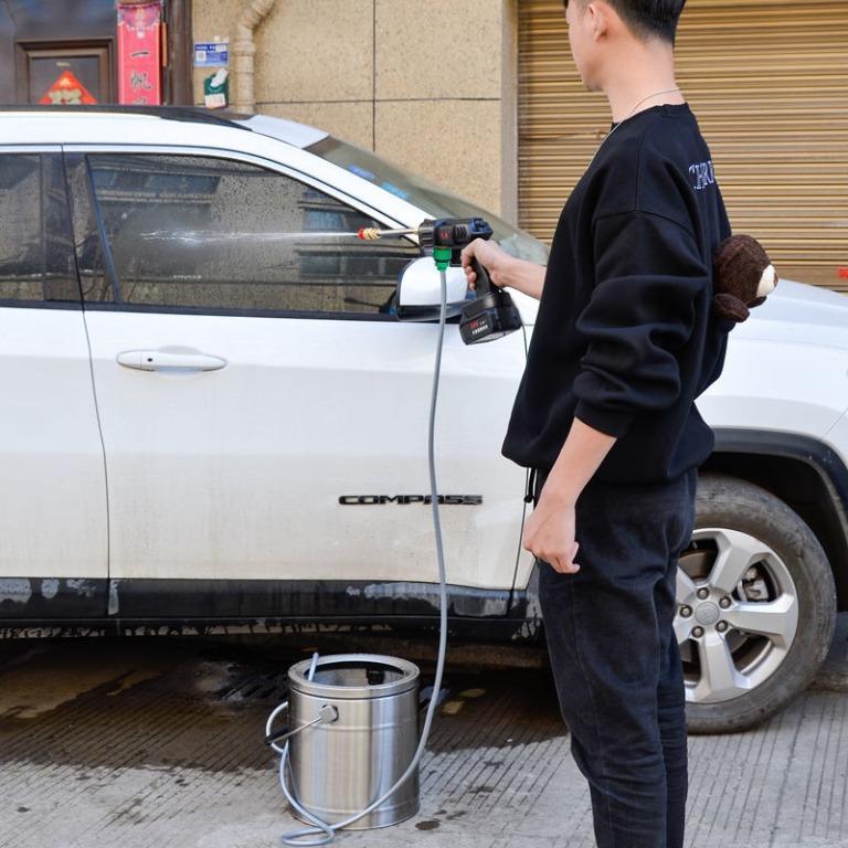 24V鋰電池水泵洗車機